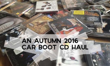 An Autumn 2016 Car Boot CD Haul