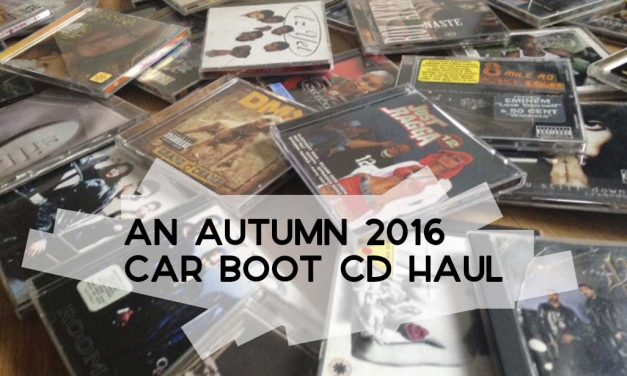 An Autumn 2016 Car Boot CD Haul