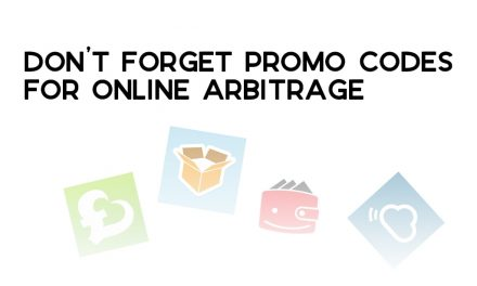 Don't Forget Promo Codes for Online Arbitrage