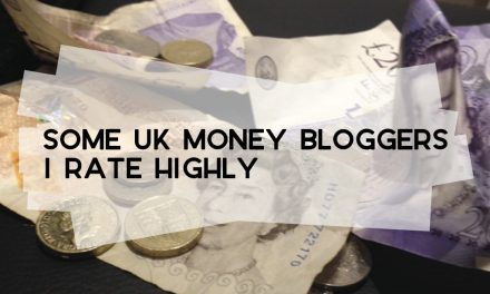 Some UK Money Bloggers I Rate Highly
