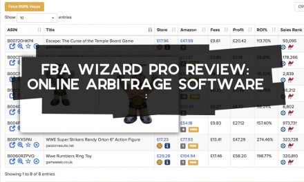 FBA Wizard Review – Online Arbitrage Software