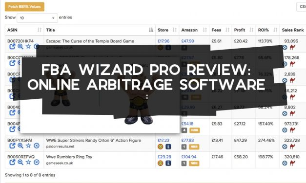 FBA Wizard Pro Review – Online Arbitrage Software
