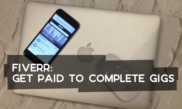 Fiverr: Get Paid to Complete Gigs