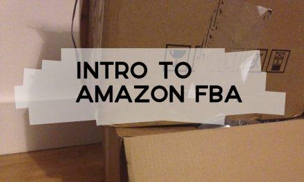 Intro to Amazon FBA: Fulfilment by Amazon