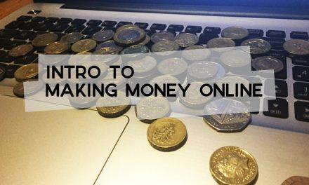 Intro to Making Money Online
