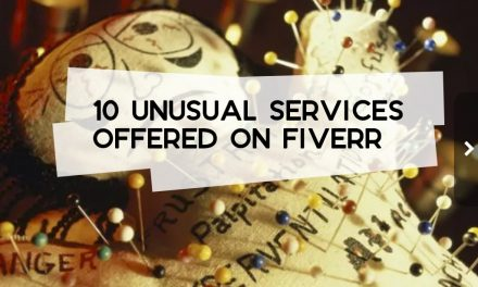 10 Unusual Services Offered on Fiverr