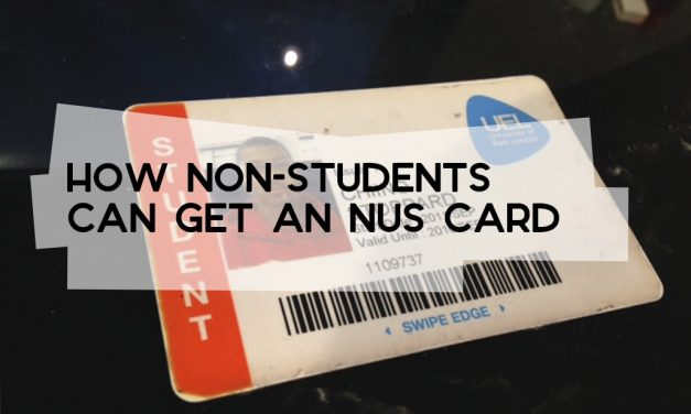 How to Get an NUS Card as a Non-Student