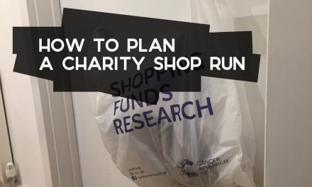How to Plan a Charity Shop Run