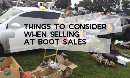Things to Consider When Selling at Boot Sales