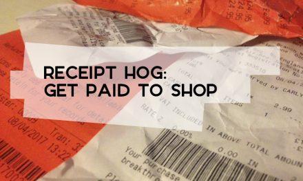 Receipt Hog: Get Paid to Shop