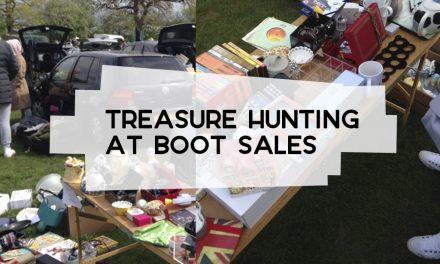 Thrifting at Boot Sales