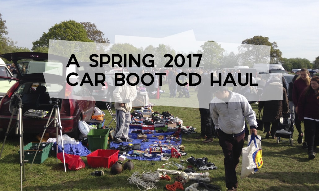 A Spring 2017 Boot Sale CD Haul