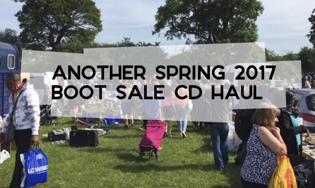 Another Spring 2017 Boot Sale CD Haul