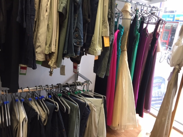 Charity Shop Clothes - Probably Busy