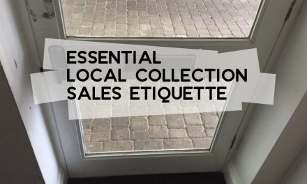 Essential Local Collection Sales Etiquette