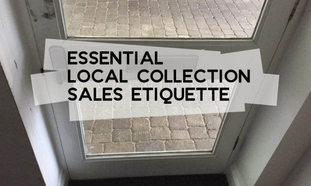 Essential Local Collection Sales Etiquette
