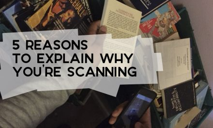 5 Reasons to Explain Why You're Scanning