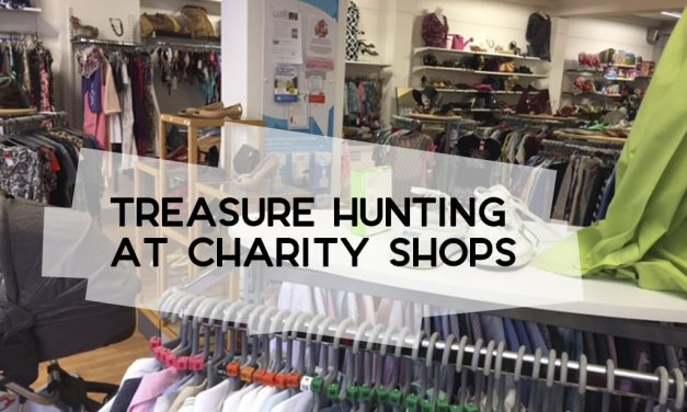 Treasure Hunting at Charity Shops