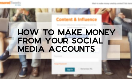 How to Make Money from Your Social Media Accounts