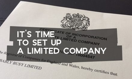 It's Time to Set Up a Limited Company