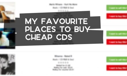 My Favourite Places to Buy Cheap CDs