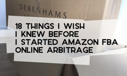 18 Things I Wish I Knew Before I Started Amazon FBA Online Arbitrage