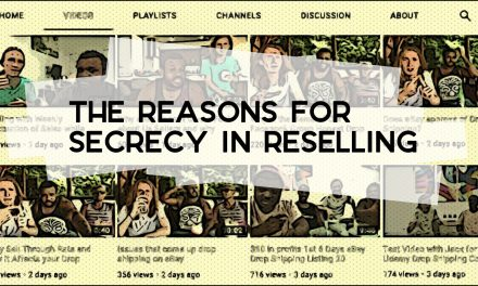 The Reasons for Secrecy in Reselling