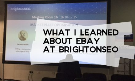 What I Learned About eBay at BrightonSEO