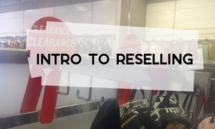 Intro to Reselling