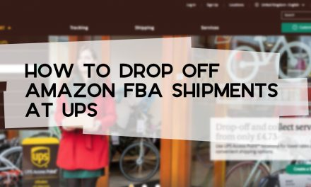 How to Drop Off Amazon FBA Shipments at UPS