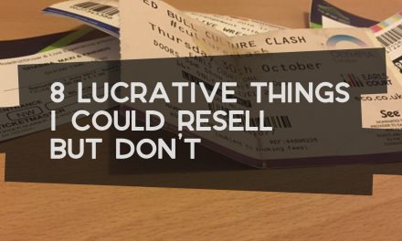 8 Lucrative Things I Could Resell but Don't