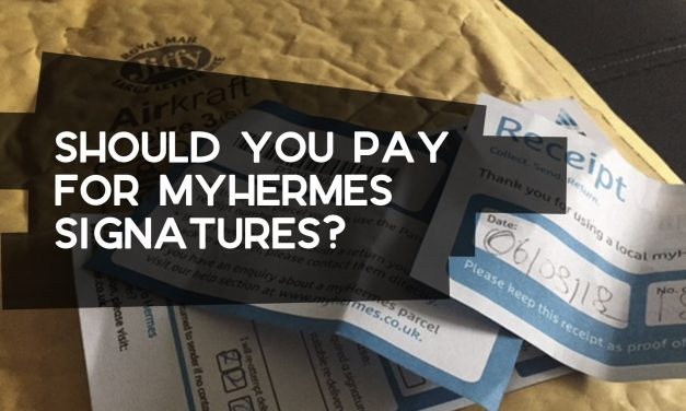Should You Pay for myHermes Signature-Tracked Delivery?