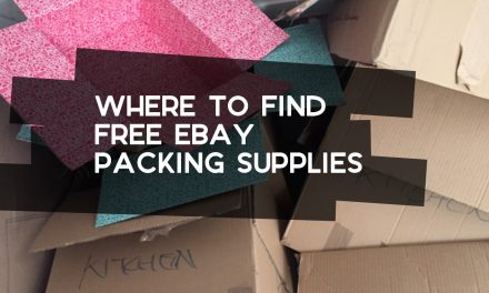 Where to Find Free eBay Packing Supplies
