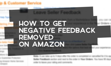 How to Get Negative Feedback Removed on Amazon