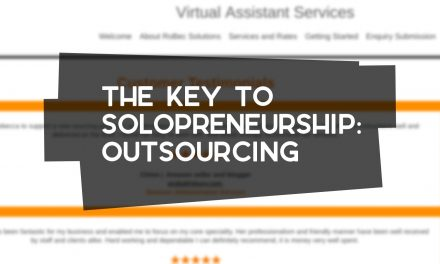 The Key to Solopreneurship: Outsourcing