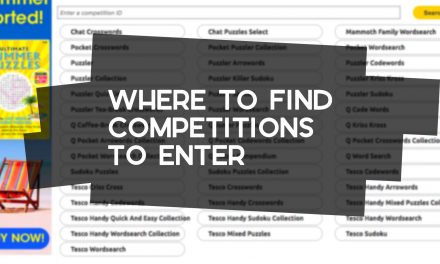 Where to Find Competitions to Enter