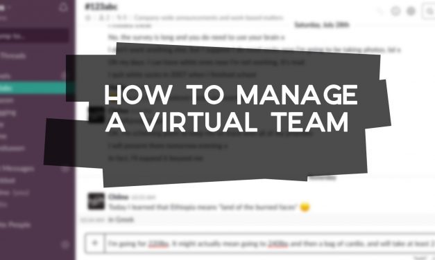 How to Manage a Virtual Team Effectively