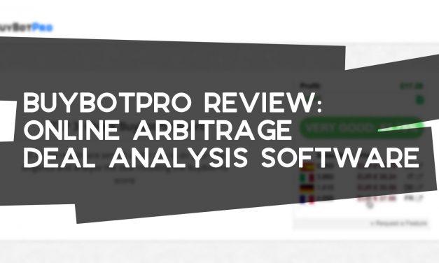 BuyBotPro Review – Online Arbitrage Deal Analysis Software