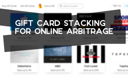Gift Card Stacking for Online Arbitrage