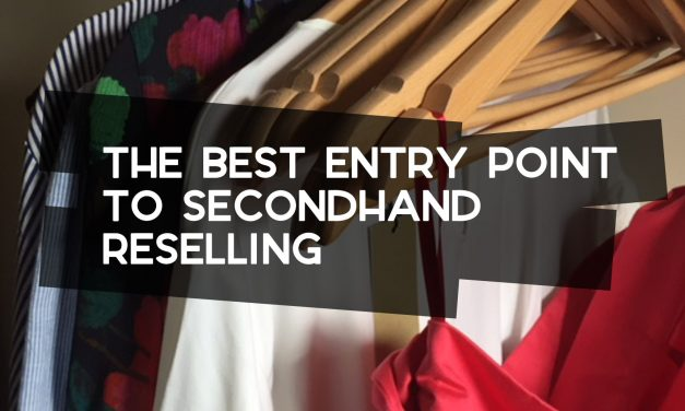 The Best Entry-Point to Second-Hand Reselling