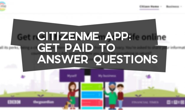 CitizenMe: Get Paid for Surveys