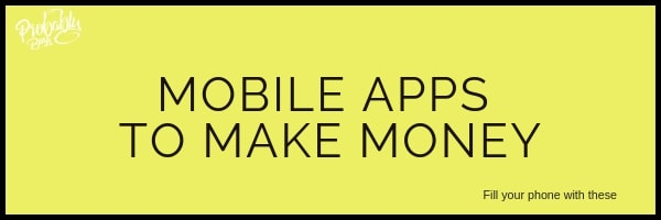 Mobile Apps to Make Money - Probably Busy