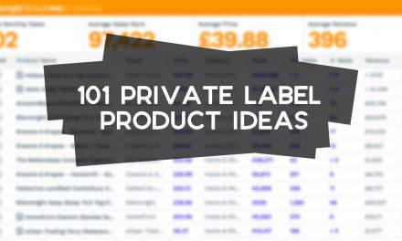 101 Amazon Private Label Product Ideas