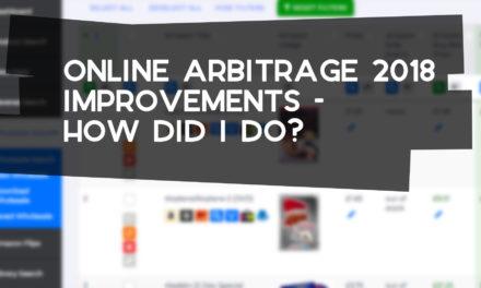 Online Arbitrage 2018 – How Did I Do?