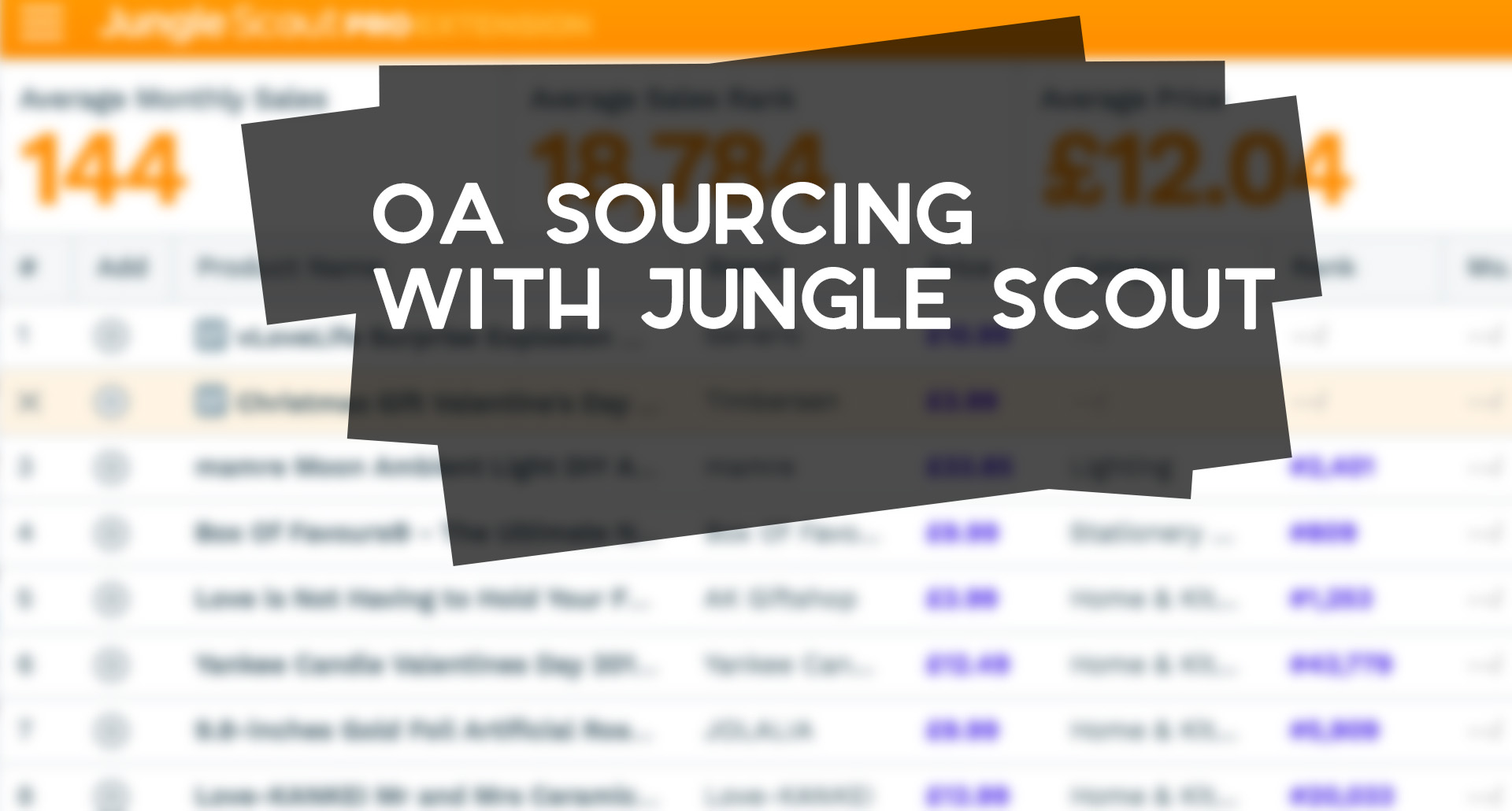 apps like jungle scout