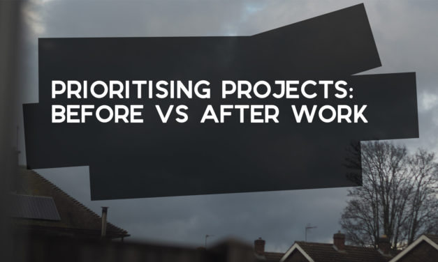 Side Projects: Mornings vs Evenings