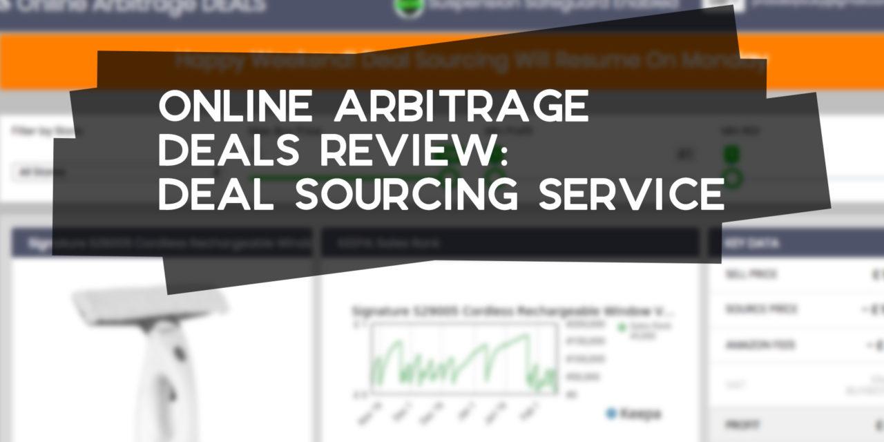 Online Arbitrage Deals Review: Deal Sourcing Service